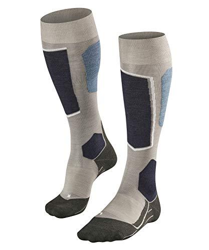 Falke SK6 skisokken voor dames, merinowolmix, 1 paar, verschillende Kleuren, maat 39-48 - met ultralichte bekleding, vochtregulerend, sneldrogend, verwarmend, direct contact met de schoen.