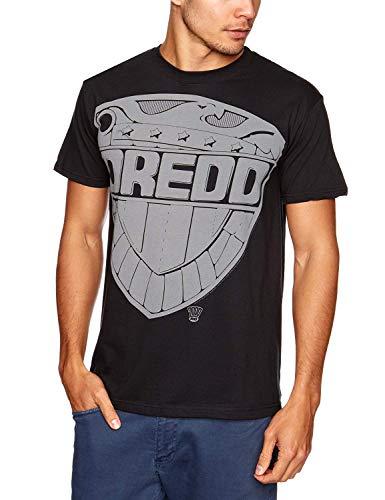 2000ad Judge Dredd: Jumbo Badge (T-Shirt Unisex Tg. S) [Italia]