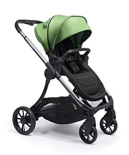 iCandy Lime Moonrock Pushchair and Carrycot Bundle, Lime