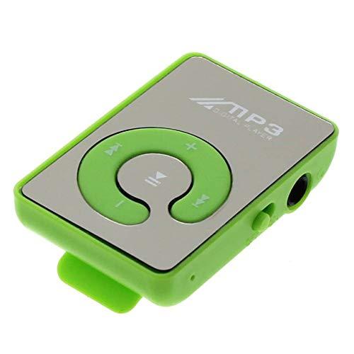 Easyeeasy Portátil Mini Clip USB Reproductor de MP3 Soporte de Medios de música Tarjeta Micro SD TF Moda MP3 de Alta fidelidad para Deportes al Aire Libre