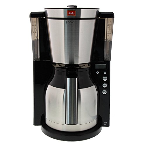 Melitta Look IV Therm Timer Cafetera de Filtro, 1000 W, Negro ...