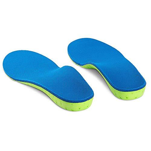WELSONPRO インソール 扁平足 矯正 アーチサポーター 足底筋膜炎 土踏まずサポーター 疲れにくい 中敷きクッション 衝撃吸収 О脚