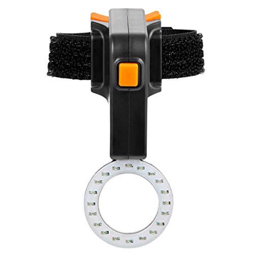 Büchel retro Sport LED Frontal LÁMPARA negro Front lámpara apagados 20 Lux
