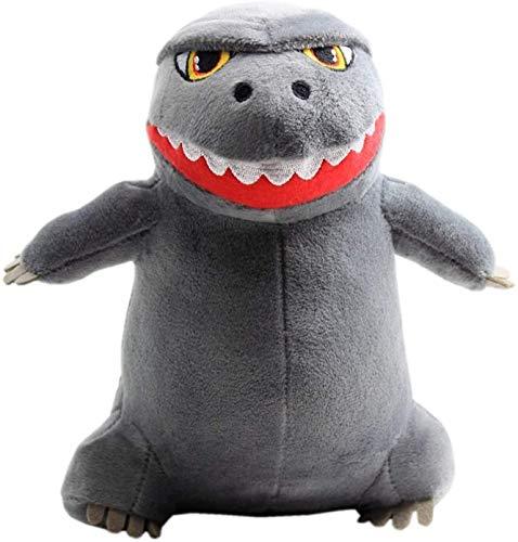XIAN Llamamiento 10/20 cm Dibujos Animados Godzillas Peluche Toys King Kong Mono Relleno Soft Dino Almohada Juguete Niños Niños Cumpleaños Regalo hailing (Color : 20cm, Size : Gray)