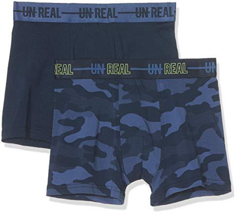 Sanetta Jungen DP Hipshort 345596+345597 Shorts, Blau (Classic Blue 5968), 140 (2er Pack)