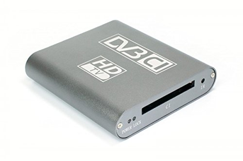 Dvbsky T680C V2 USB Box with 1x DVB-T2 / DVB-C Tuner and Ci Common Interface for PayTV, UK Power Plug (and EU/US/AU Also)