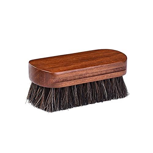ZHANGAIGUO CCCZY Cepillo de cráneo Diseño cóncavo único Manija de Madera Anti Deslizamiento Limpieza de Cepillo Cepillo Removedor de Polvo Limpiador de Polvo de Coche