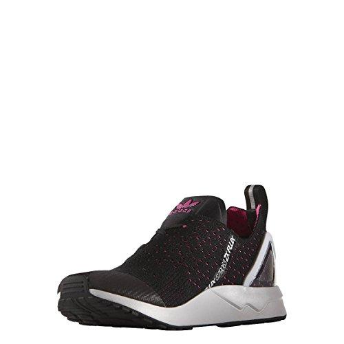Adidas Zx Flux Racer Asym Primeknit - cblack/shopin/cwhite, Größe:10