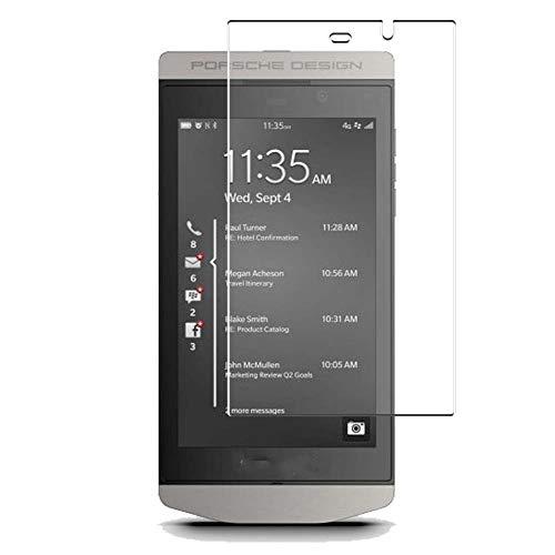Vaxson 4 Stück Schutzfolie, kompatibel mit BlackBerry Porsche Design P9982, Bildschirmschutzfolie TPU Folie [nicht Panzerglas]