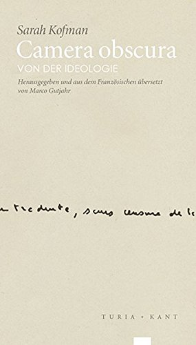 Camera obscura: Von der Ideologie (re.visionen, Band 1)
