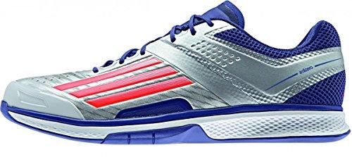 adidas ADIZERO COUNTERBLAST 7 blau-silber, Schuhgröße UK (D):12.0 (47 1/3)
