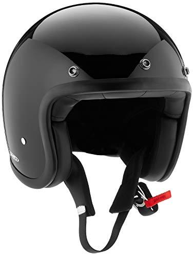 DMD Motorcycle Helmet, Schwarz, Größe M