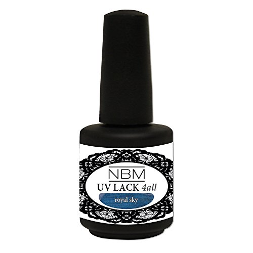 NBM UV Lack 4 all royal sky, 1er Pack (1 x 14 ml)