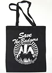 Balcony Shirts 'Save The Badgers' Tote Bag
