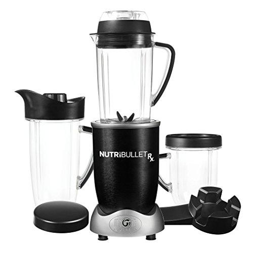 NutriBullet RX - Batidora color negro - [importado Francia]