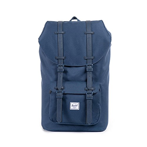 Herschel Little America Laptop Backpack, Navy/Navy, Classic 25.0L