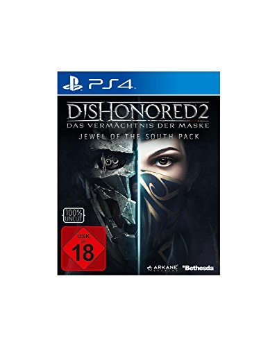 Dishonored 2 PS-4 Metal Pack Ed, Vermächtnis der Maske
