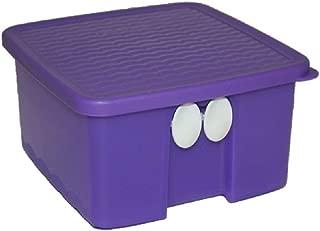 Tupperware (1) FridgeSmart Small Square 4.3 Cups Purple