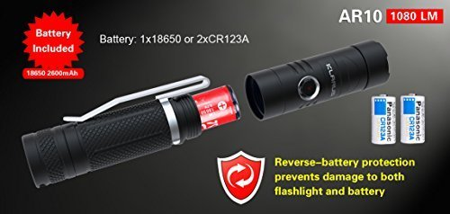 klarus Flashlight, Newest Design AR10...
