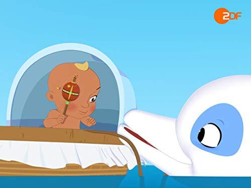 Der Delfin und das Baby