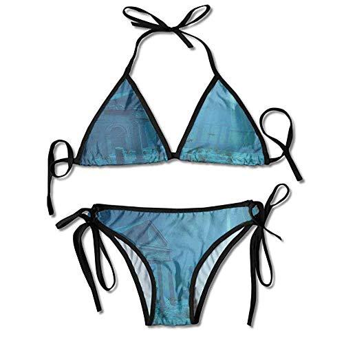 Garlincao Damen Zweiteiler Bikini Desiree Bikini Top Bikini Sets Badeanzug
