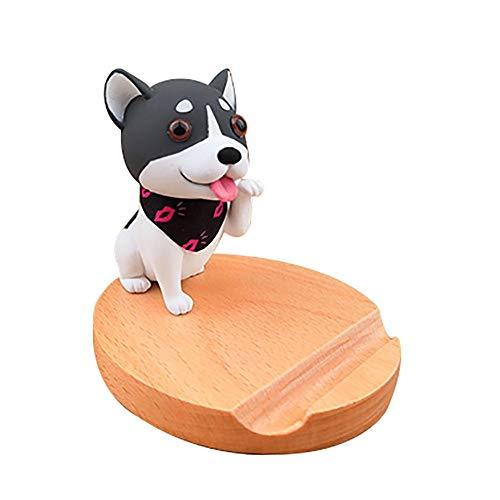 Lovise Cell Phone Stand Cute Dog Cartoon Desktop Phone Holder Smartphone Stand