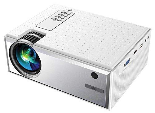 Proyector LCD con iluminación LED y resolución nativa HD 720p con Soporte 1080p, de Gran versatilidad Tanto para instalaciones fijas como móviles. Ideal para instalaciones domésticas. ✅