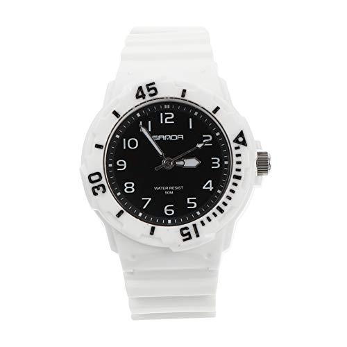ibasenice Reloj de Mujer con Correa de Silicona Minimalista Reloj Deportivo Reloj...