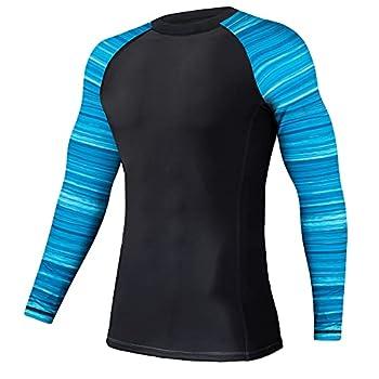 Boys UV Swim Shirt Sun Shirt Long Sleeve Shirts Water Sports Swimming Cruise Trave  Ocean XXXL