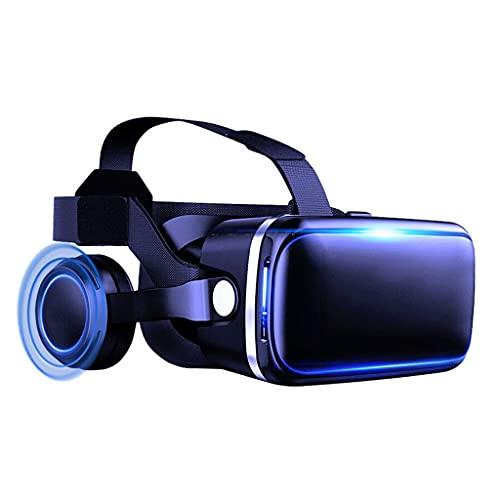 Gffeijc Visore VR 3D Occhiali Cuffie Auricolare Realtà Virtuale Headset 3D Film Gaming Glasses per iPhone 12 11 PRO Max Mini X R S 8 7 per Android Samsung 4,7-6.2' Smartphone