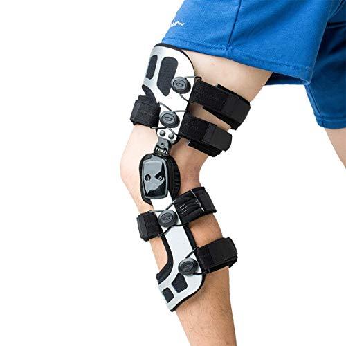 Orthomen OA Knee Brace Booster Ligament Injury or Meniscus Injury & Knock Knee Brace Correction(S/Right)