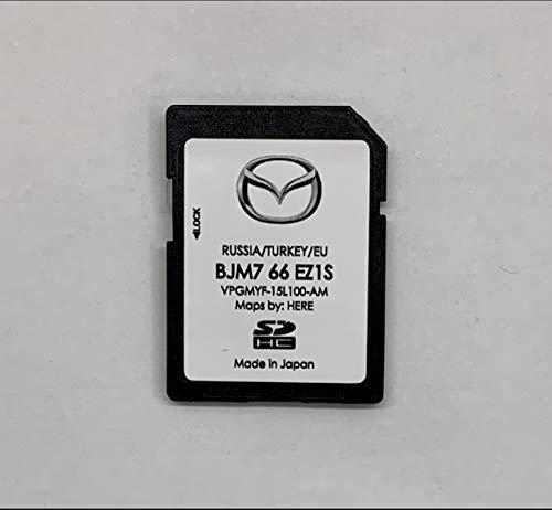 Mazda Connect 2, 3, 6, CX 3, 5, 9 Navigation SD Card / BJM7 66 EZ1S / Europa/Russia/Turkey
