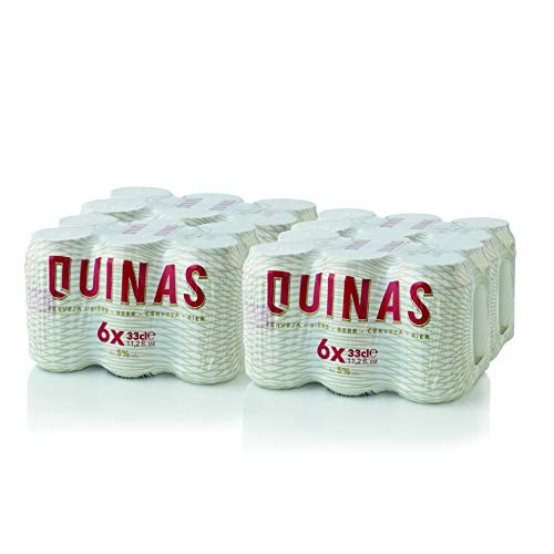 Cerveza QUINAS LATA 330ML PACK 24 UNITS