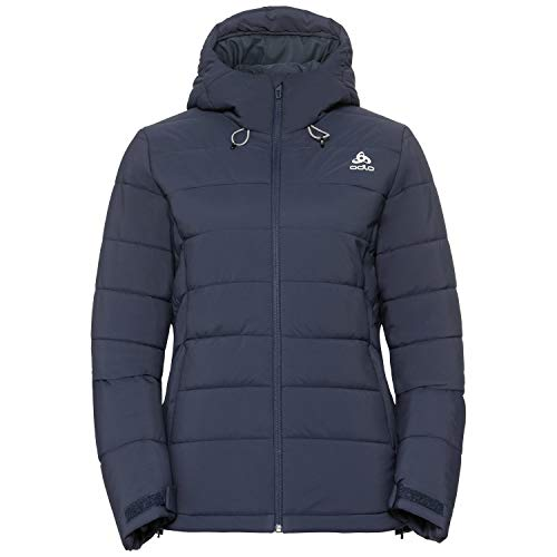 Odlo Damen Cocoon Nordic Fan Skijacke, Diving Navy, L