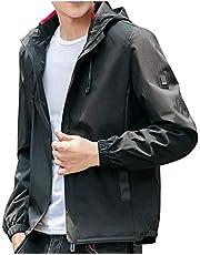 ODFMCE ジャケット メンズ コート 秋冬 ブルゾン ウインドブレーカー 無地 カジュアル 大きいサイズ
