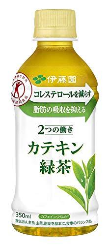 [トクホ] 伊藤園 2つの働き カテキン緑茶 (電子レンジ対応) 350ml×24本×2ケース【合計48本】