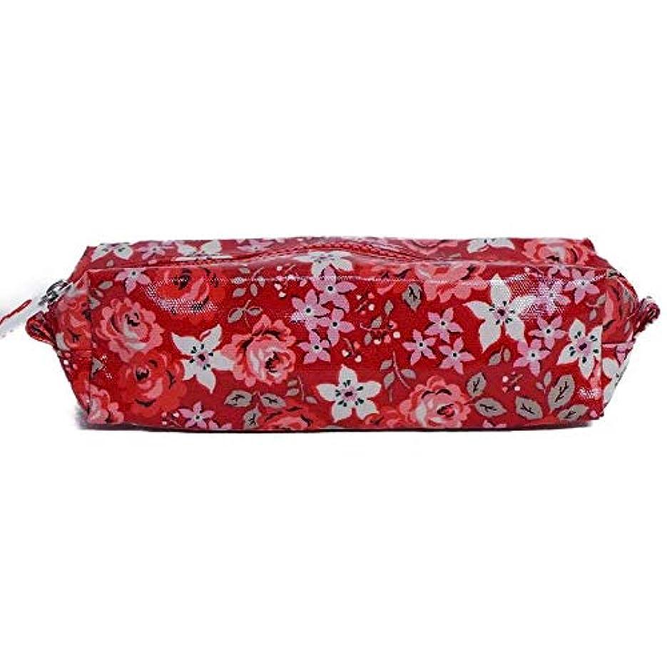 セージあいまい不従順Cath Kidston ポーチ KIDS PENCIL CASE 789424 キッズ MID RED Mini Broomfield Blooms キャスキッドソン [並行輸入品]