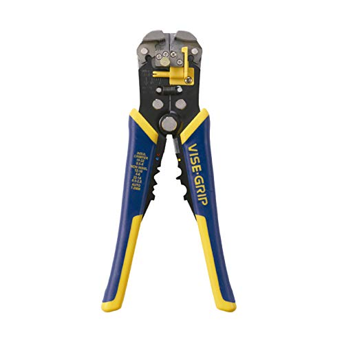 IRWIN VISE-GRIP 2078300 Self-Adjusting Wire Stripper, 8'