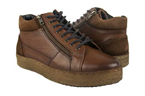 Zerimar Leren enkellaarzen man | Winter man laarzen | Herenschoenen | Leren enkellaarzen Heren laarzen | Chukka-laarzen | Leren herenlaarzen