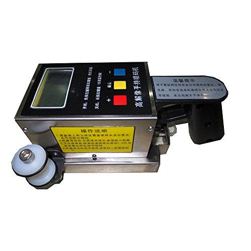Handheld machine de codage imprimante à jet d'encre pour marque commerciale, Logo, graphique, Datecode