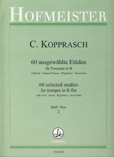KOPPRASCH C. - Estudios Selectos (60) Vol.2 para Trompeta (Gumbert/Herbst)