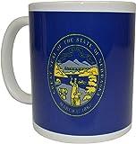 Nebraska State Flag Coffee Mug Novedad Cup Great Gift NE