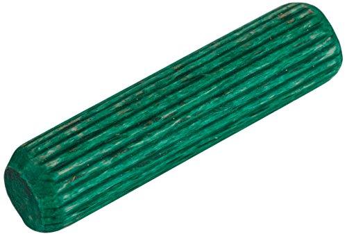 Wolfcraft - Juego espiga corrugado madera haya diámetro 6x30(30u)