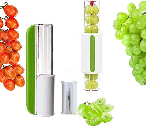CHCH Affettatrice di pomodoro uva affettatrice frutta verdura insalata affettatrice ciliegia affettata frutta tagliata a metà verde