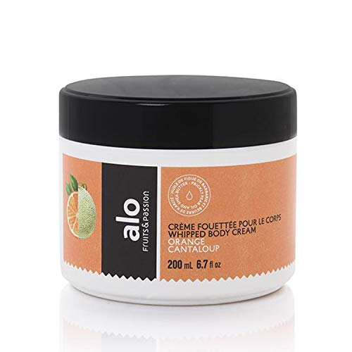 New Whipped Body Cream Enriched with vitamins E and B5 200 ML (Orange Cantaloup)