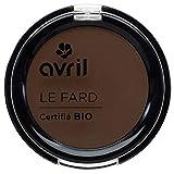 Avril - Ombretto certificato bio, colore: terra di Siena bruciata, Mat, confezione da 2,5g