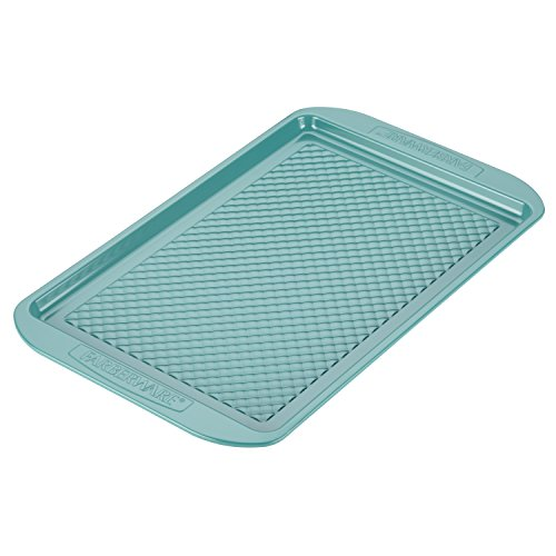 Farberware Ceramic Nonstick Bakeware, Nonstick Cookie Sheet / Baking Sheet - 10 Inch x 15 Inch, Aqua Blue