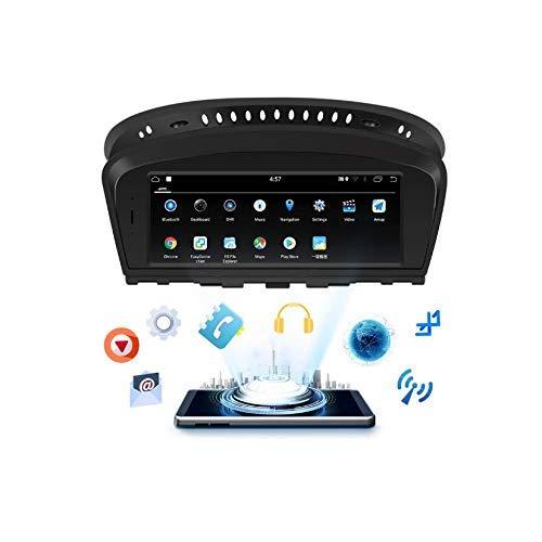 In Dash Car estéreo Nacimiento 8.8 Pulgadas Android 8.1 para BMW E60, E61, E63, E64 (2003-2010) GPS + FM/Am + RDS + Bluetooth + SD/USB + SWC + 4G / WiFi