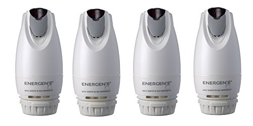 Energenie MIHO013-4 Smart Radiator Valves (Pack of 4)