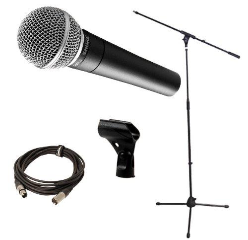 SHURE SM58 LCE - Micros con cable micro y cable micro dinámico para mano